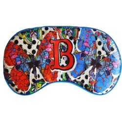 Jessica Russell Flint - B For Butterfly Silk Eye Mask In Gift Box found on Bargain Bro India from Wolf & Badger US for $62.00