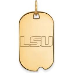10k Yellow Gold Louisiana State Dog Tag
