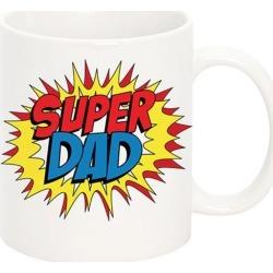Personalised Super Dad Mug found on Bargain Bro India from hardtofind.com.au for $19.34