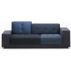 Polder Compact Sofa Night Blue, 01/R Low armrest right/sitting left