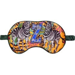 Jessica Russell Flint - Z For Zebra - Silk Eye Mask found on Bargain Bro from Wolf & Badger US for USD $52.44