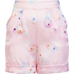 Sophie Cameron Davies - Tailored Silk Short Pink Beach Flower found on Bargain Bro from Wolf & Badger US for USD $163.40