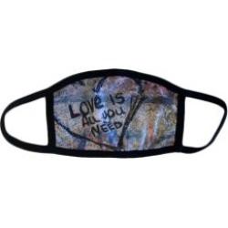 Love Is All You Need Face Mask - Made in the USA