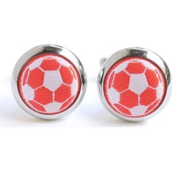 Hannmaid Red Soccer Cufflinks found on Bargain Bro India from hardtofind.com.au for $39.18