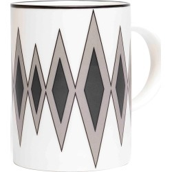 O.W. London - Diamond Black/Grey Mug found on Bargain Bro UK from Wolf and Badger