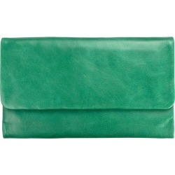 Audrey leather wallet in emerald found on Bargain Bro India from hardtofind.com.au for $75.37