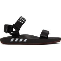 Valentino Black Valentino Garavani VLTN Sandals