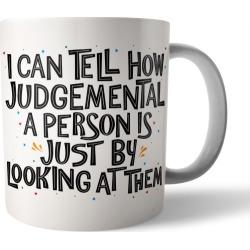 Judgemental Person coffee mug