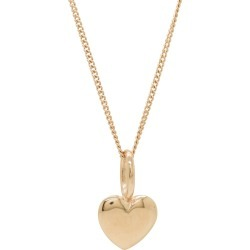 Katie Mullally - Beaten Heart Rose Gold Plated Necklace found on MODAPINS from Wolf and Badger for USD $192.27