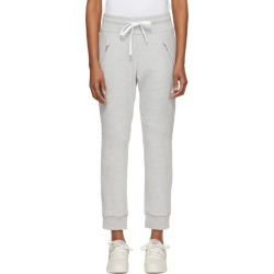 Baja East Grey Logo Moto Lounge Pants found on MODAPINS from SSENSE for USD $325.00