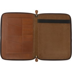VIDA VIDA - Classic Tan Leather A4 Document Holder found on Bargain Bro UK from Wolf and Badger