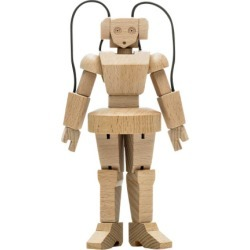 BarbarellaBot wooden toy