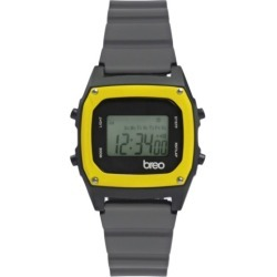 Breo Binary Watch Grey/ Yellow found on Bargain Bro Philippines from hardtofind.com.au for $30.69