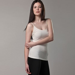 Bamboo camisole singlet in white found on Bargain Bro Philippines from hardtofind.com.au for $20.45