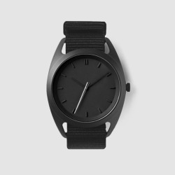 Seconds watch in silver
