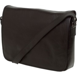 Julius black leather messenger bag found on MODAPINS from hardtofind.com.au for USD $230.64