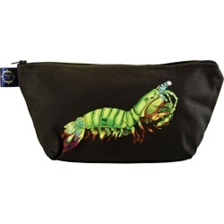 Wilful Ink - Peacock Mantis Shrimp Make Up Bag found on Bargain Bro from Wolf & Badger US for USD $35.72