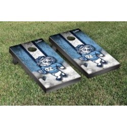 North Carolina Tar Heels Cornhole Game Set Vintage Ram