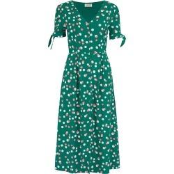 Sugarhill Brighton - Veronica Green Dappled Spot Tea Dress found on MODAPINS from Wolf & Badger US for USD $123.00
