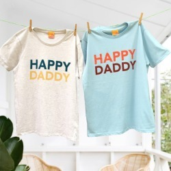 His and His Happy Daddy Duo T-Shirt Twinset found on Bargain Bro Philippines from hardtofind.com.au for $86.36