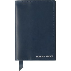 VIDA VIDA - Classic Navy Leather Passport Cover found on Bargain Bro India from Wolf & Badger US for $40.00
