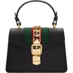 Gucci Black Mini Sylvie Bag found on MODAPINS from ssense asia-pacific for USD $2063.96