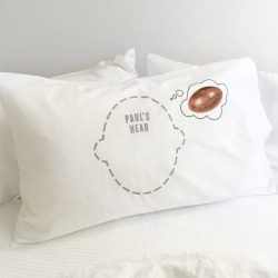 Rugby Dreams pillowcase with personalisation found on Bargain Bro India from hardtofind.com.au for $60.13