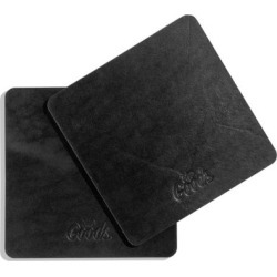 The Coaster - Leather Coaster in a Set of 4