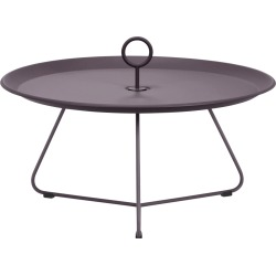 Eyelet Tray Side Table Plum, 70cm