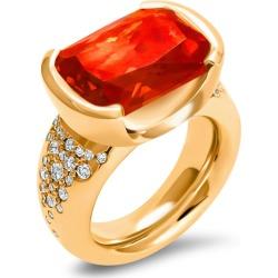 Hargreaves Stockholm - Freyr Gold, Diamond & Sapphire Dress Ring