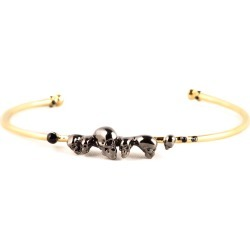 Roz Buehrlen - Chattering Skull Bangle found on Bargain Bro India from Wolf & Badger US for $119.00