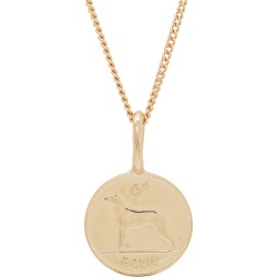 Katie Mullally - Irish 6D Coin Necklace In Rose Gold Plate found on MODAPINS from Wolf & Badger US for USD $245.00