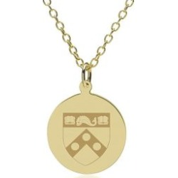 Penn 14K Gold Pendant and Chain