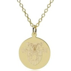 West Point 14K Gold Pendant and Chain
