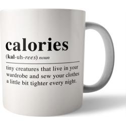 Calories coffee mug