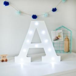 White Light Up Letters