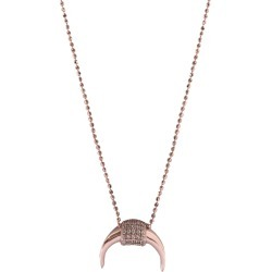 Wild Hearts - Horn Necklace Rose Gold found on Bargain Bro from Wolf & Badger US for USD $77.52