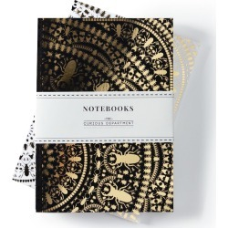 The Curious Department - Insect Mandala Notebook Set Of 2 found on Bargain Bro India from Wolf & Badger US for $32.00