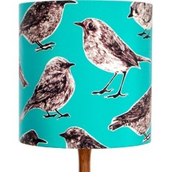 Katie & the Wolf - Flight Lampshade - Aqua found on Bargain Bro UK from Wolf and Badger