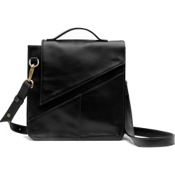 Holly & Tanager - Wanderer Leather Crossbody Purse In Black found on MODAPINS from Wolf and Badger for USD $451.30