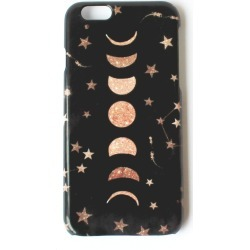 Nikki Strange - Phases Of The Moon & Stars Galaxy Phone Case For iPhone & Samsung found on Bargain Bro India from Wolf & Badger US for $31.00