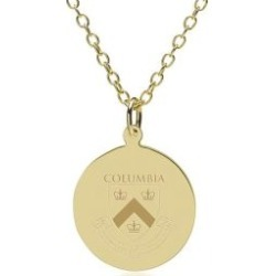 Columbia 14K Gold Pendant and Chain