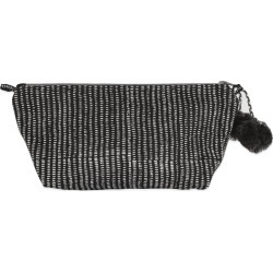 Graymarket Design - Alice Stripes Midnight Block Printed Makeup Pouch found on MODAPINS from Wolf & Badger US for USD $16.00