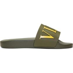 Valentino Green Valentino Garavani PVC VLTN Sandals