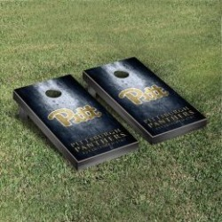 Pittsburgh Panthers Cornhole Game Set Metallic-Look