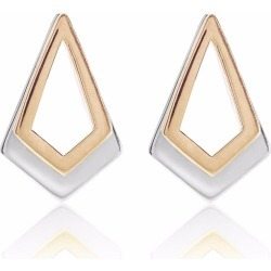 Neola - Rose Gold & Sterling Silver Earrings Serenity found on Bargain Bro India from Wolf & Badger US for $221.00