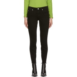 Amo Black Stix Crop Jeans found on MODAPINS from SSENSE for USD $265.00