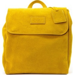 THE DUST COMPANY - Mod 238 Leather Suede Yellow Backpack