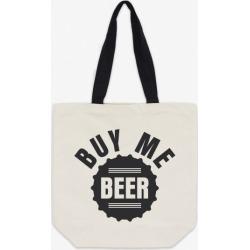 Buy Me Beer Unisex Premium Fairtrade Cotton Canvas Tote Bag