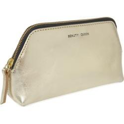 VIDA VIDA - Solar Gold Leather Make-Up Bag found on Bargain Bro India from Wolf & Badger US for $58.00